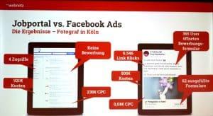 Vortrag: 10-Facebook Mythen - Jobportal vs. Facebook Ads