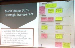 Vortrag: SEO im Online Marketing Mix - Die SEO Stategie