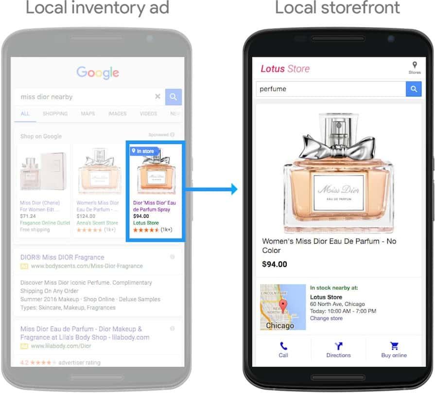 Google local inventory ad