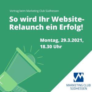 Vortrag Michael Buschmann von takevalue: So wird Ihr Website-Relaunch ein Erfolg!