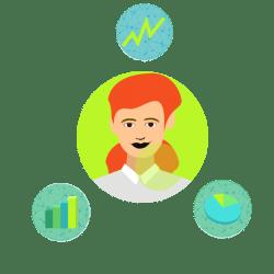 Nur wenn man sie richtig wählt und interpretiert, bringen Daten und Kennzahlen einen Mehrwert. - takevalue Consulting