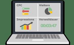 Unsere Experten unterstützen Sie dabei, Kennzahlen für Ihr Unternehmen zu definieren und ein Dashboard für die Analyse einzurichten. - takevalue Consulting