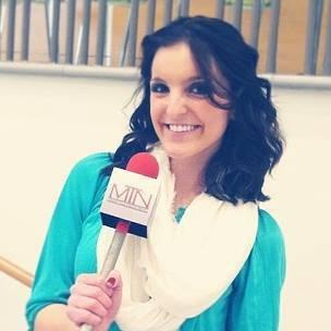 Rachel Tracy, succeeding in journalism classes