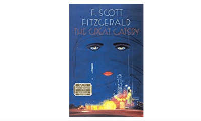 The Great Gatsby book cover.