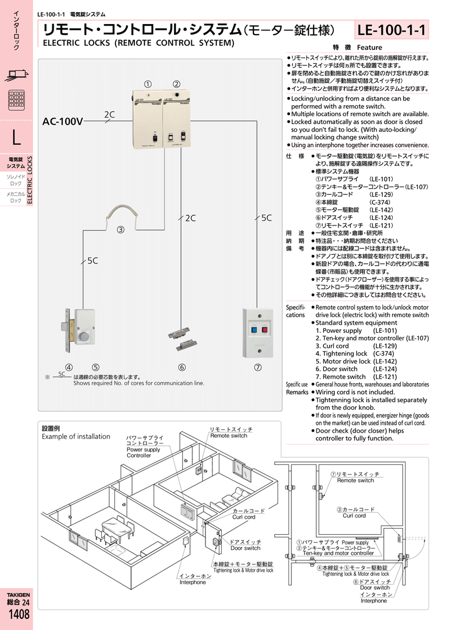medium resolution of electric locks remote control system