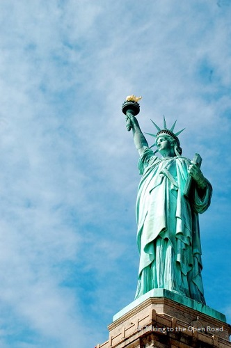 7 days in New York things to do in NYC statue of liberty takingtotheopenroad peggytee