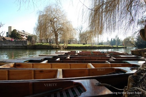 weekend in cambridge punts takingtotheopenroad peggytee