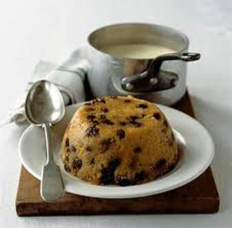 Moving to the UK British foods spotted dick