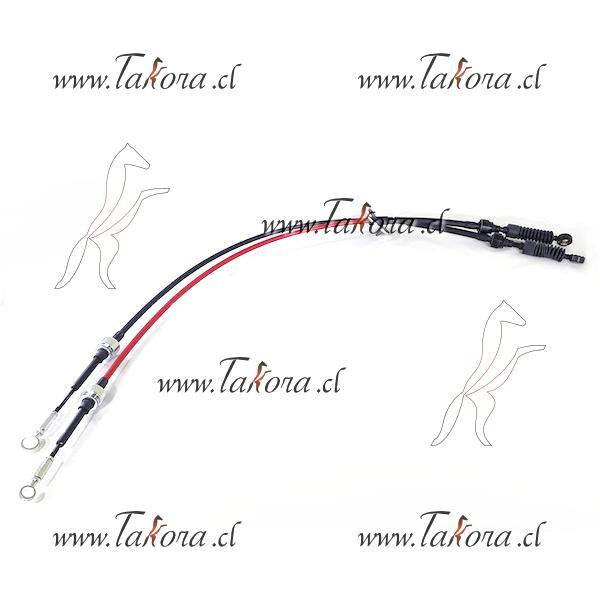Piola cable Selectora Caja de Cambios Manual Hyundai