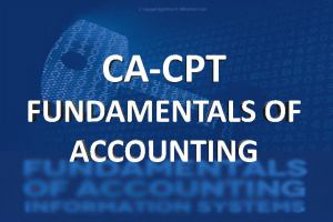 Ca Cpt Fundamntals of Accounting classes