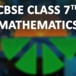 CBSE Class 7th Mathematics