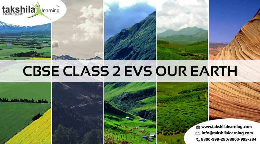 NCERT & CBSE Class 2 EVS Our Earth | Study material and Worksheet