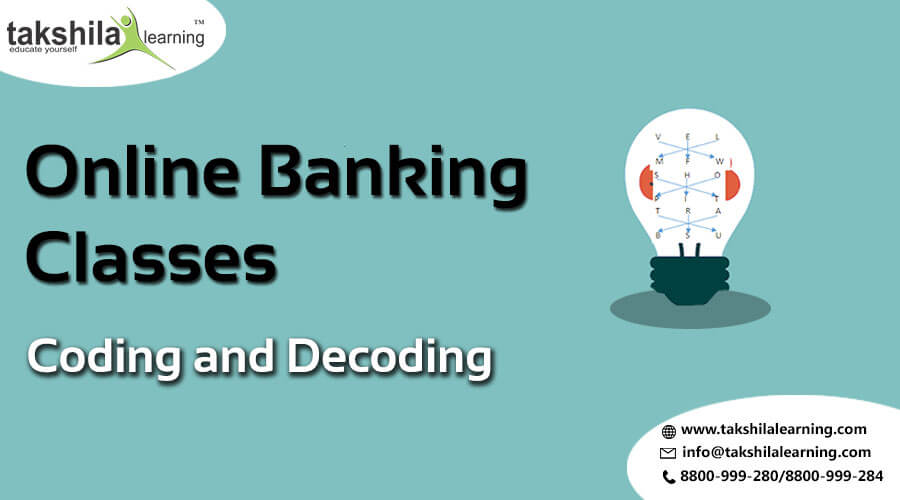 How to solve Coding and Decoding Quiz based pattern for BANK EXAMS