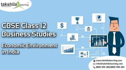 Business studies class 12 - Economic Environment in India,CBSE Class 12 Business Studies