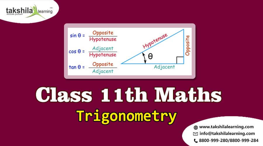 NCERT Solutions for Class 11 Maths Trigonometry