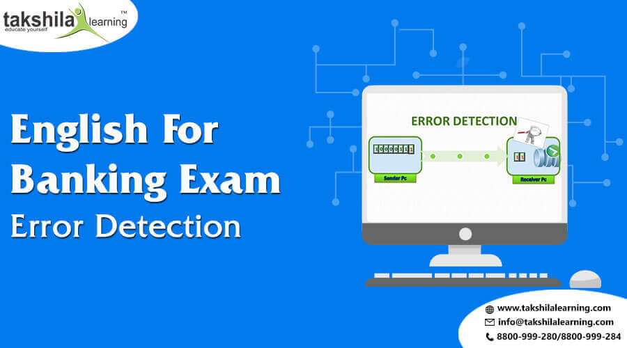 English Questions Based On Error Detection for IBPS PO & CLERK
