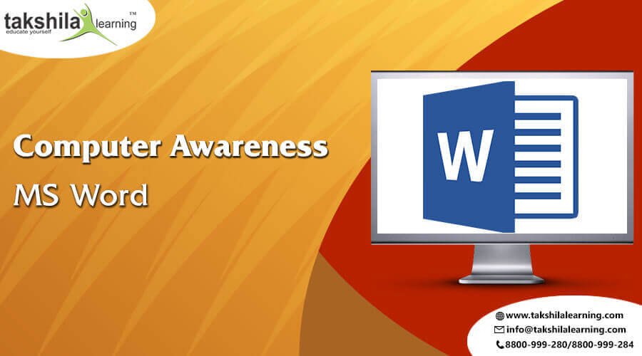 Important Computer Awareness MS Word shortcuts for SBI /IBPS - PO & CLERK Exams 2018