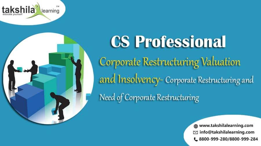 Corporate Restructuring Valuation and Insolvency – Corporate Restructuring and Need of Corporate Restructuring