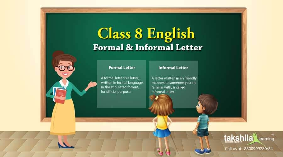 Class 8 English Letter Writing Samples For Formal And Informal Letters