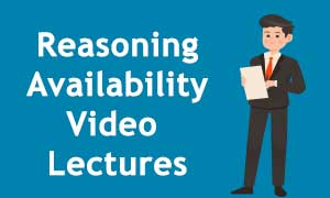 Best Reasoning Ability Video Lectures in Online & Pendrive mode