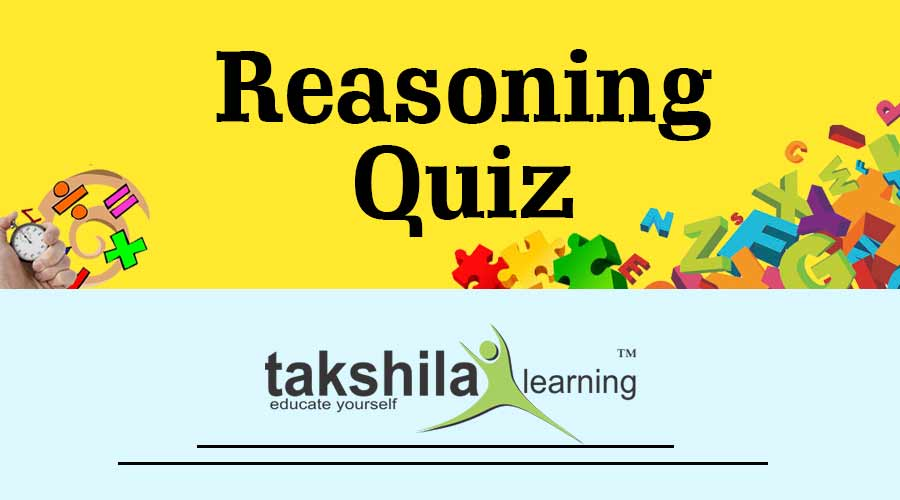 Online Reasoning Quiz For IBPS RRB : Part - 55