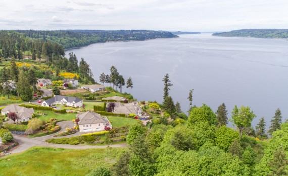 Drone aerial photography in Tacoma, Washington