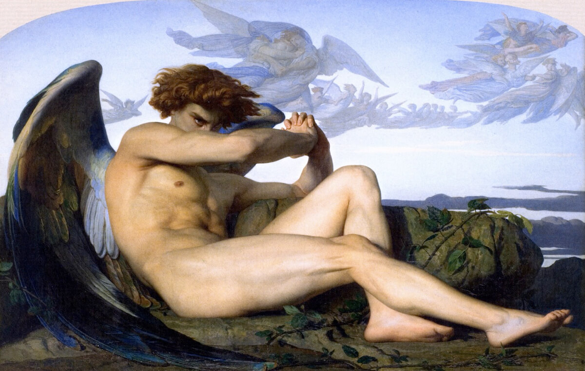 TAKUMI lifestyle - Il bonsai tra arte ed estetica - The Fallen Angel (Alexandre Cabanel)