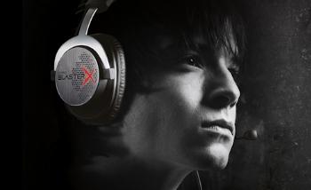 Creative dévoile une nouvelle gamme Sound BlasterX pour les joueurs