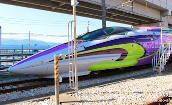 Japon : Le Shinkansen 500 Type Eva Project se dévoile en photos