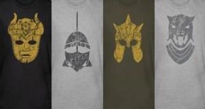 Une nouvelle série de T-Shirt pour Game Of Thrones