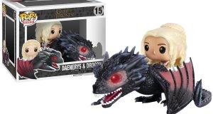Une figurine Pop de Daenerys Targaryen avec Drogon disponible