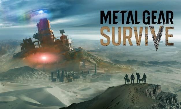 Une démonstration de gameplay de Metal Gear Survive au TGS