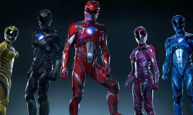 Une première bande annonce pour le film Power Rangers