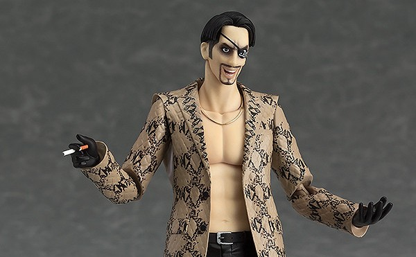 Yakuza : GoodSmille Company dévoile une figurine de Goro Majima