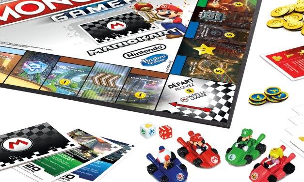 Hasbro et Nintendo annoncent Monopoly Gamer : Mario Kart