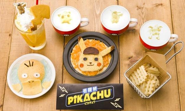 Un menu spécial Pokémon: Detective Pikachu au Pokémon Café de Tokyo