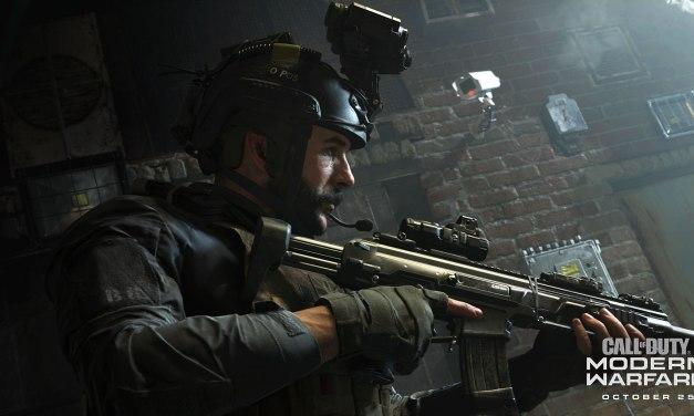 Un trailer de lancement pour Call of Duty: Modern Warfare