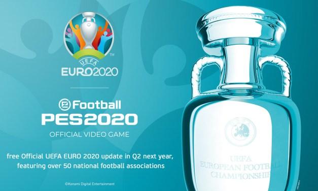 eFootball PES 2020: Un partenariat exclusif avec l'UEFA
