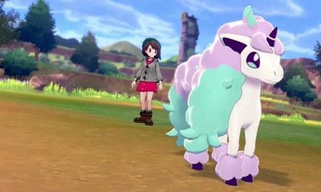 La forme de Galar de Ponyta sera présente dans Pokémon Bouclier