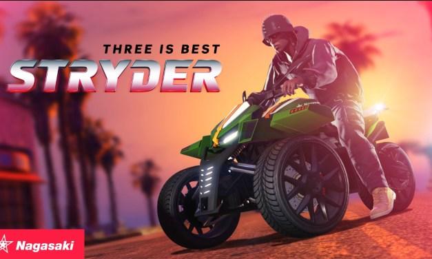 Le Nagasaki Stryder est disponible dans Grand Theft Auto Online
