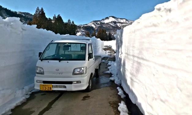 Japon: Une nouvelle balade dans la ville enneigée de Tsunan