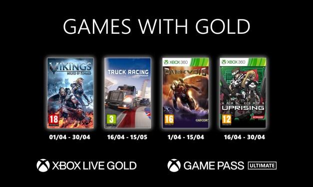Découvrez le jeux Games with Gold d'Avril