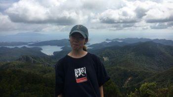 週末登山した Mt Hobson