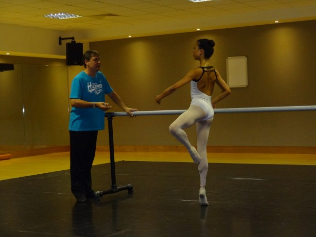 Tala Lee-Turton - ballet training