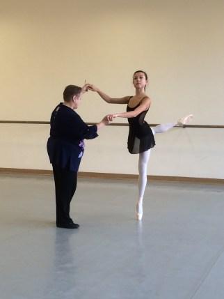 Ballet class - Tala Lee-Turton