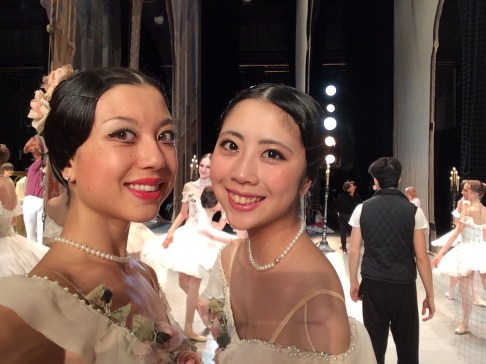 Bolshoi Ballet Academy - Tala Lee-Turton at the Bolshoi Theatre