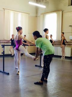 Tala Lee-Turton - professional ballerina - coaching
