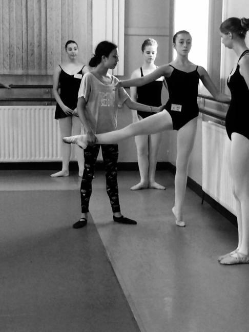 Tala Lee-Turton ballet coach