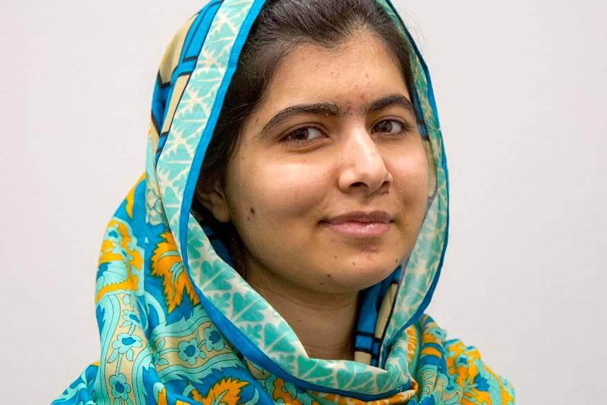 Till sidan Malala Yousafzau