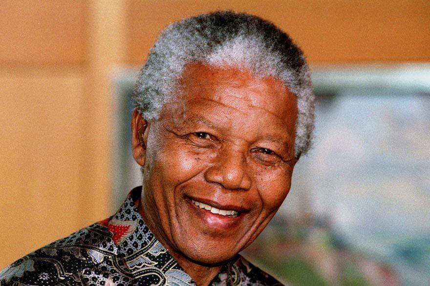 Till sidan Nelson Mandela